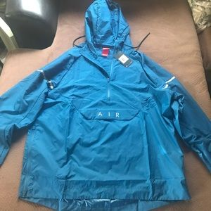 Nike Air Max 97 Windrunner Hoodie Aqua Blue 2XL